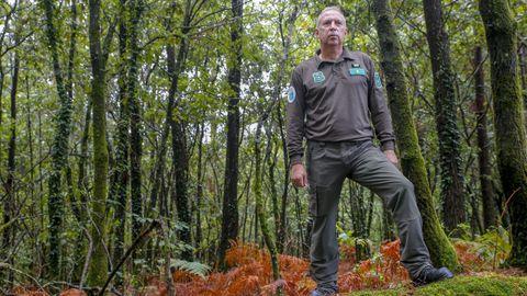Luis Zarco es uno de los 14 miembros de la nueva Unidade de Investigacións de Incendios Forestais de la Consellería de Medio Ambiente