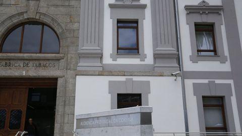 Sede de la Audiencia Provincial de A Coruña, donde se celebrará el juicio la próxima semana