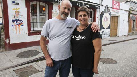 Paula y Lito, del Clavel de Canido