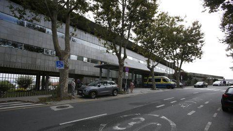 O percorrido arrancou no Hospital Marítimo de Oza.