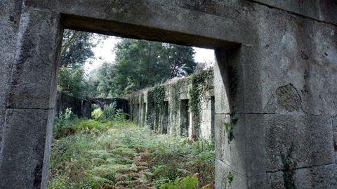 Ruinas del antiguo lazareto