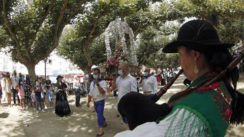 MISA Y PROCESION VIRGEN DE LA GUADALUPE EN RIANXO 2021