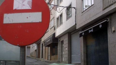 Una imagen de archivo de la calle Castelo, donde se registró el incidente