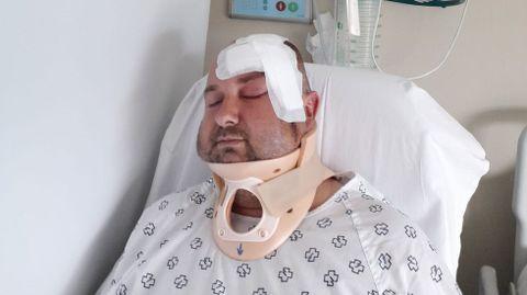 Miguel Couto fue ingresado el viernes en el hospital Álvaro Cunqueiro y esta mañana le dieron el alta
