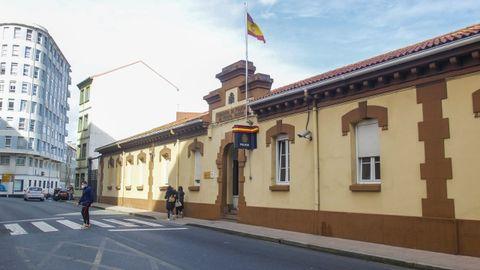 En la comisaría del Cuerpo Nacional de Policía de Ferrol investigan el caso