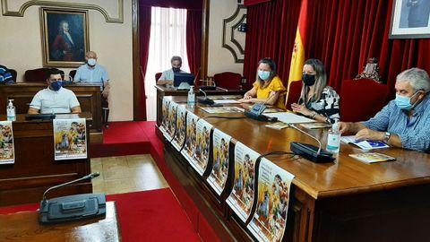 A presentación da feira celebrouse no salón de plenos do Concello