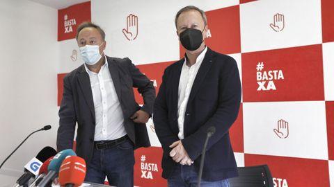 Juan Carlos Francisco Rivera y Rafael Rodríguez Villarino (PSOE)