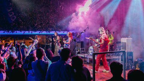 GInebras actuando el pasado sábado en la sala Inn Club de A Coruña