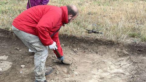 Un aspecto de las nuevas excavaciones de Proendos
