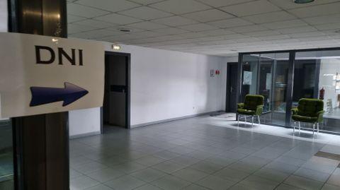La oficina del DNI estará en el segundo piso del edificio multiusos de O Barco