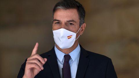 El presidente del Gobierno, Pedro Sánchez, en una imagen de archivo