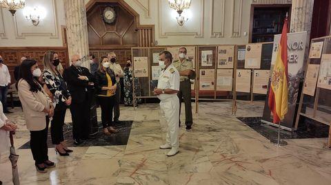 La exposición es un homenaje a la gesta épica de los soldados que resistieron los últimos días de Filipinas