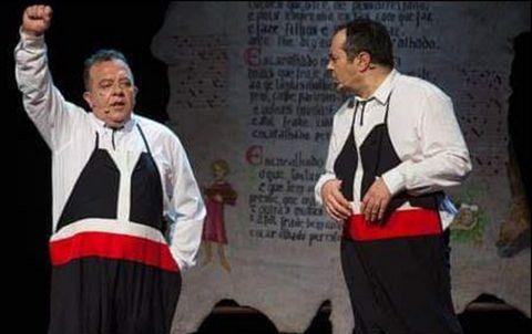 Volta e Dálle Teatro presenta «Falar por falar»
