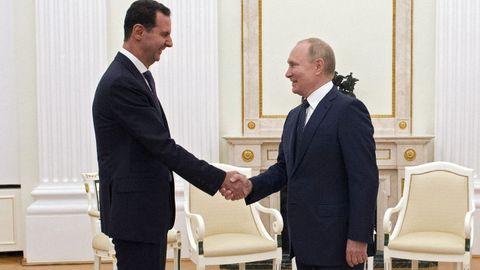 Putin se confinó poco después de reunirse la noche del lunes con el presidente sirio, Bachar al Asad, en Moscú.