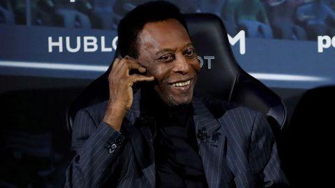 Pelé, en abril del 2019, en París
