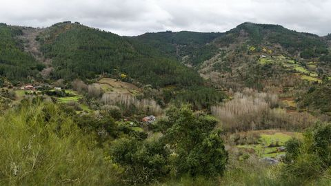 Una vista de la parroquia de Quintá de Lor, donde ocurrió el suceso