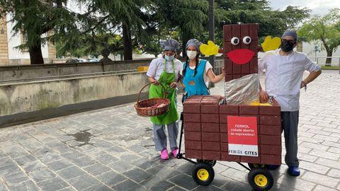Regalo de chocolate en Ferrol