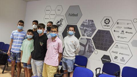 Nuevo curso de iniciación en la delegación ourensana de árbitros de fútbol