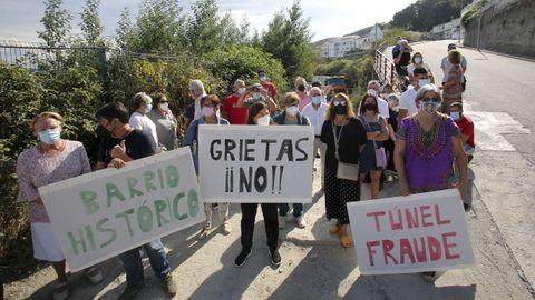 Protesta en A Graña