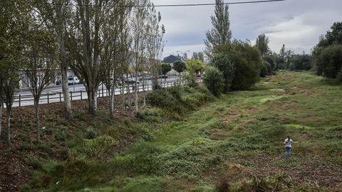Desde agosto, el Limia se puede cruzar andado en Xinzo