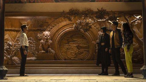 Fotograma del filme «Shang-Chi y la leyenda de los diez anillos», dirigido por Destin Cretton.