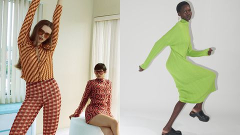 Los estampados psicodélicos y los colores fuertes forman parte de las nuevas tendencias de otoño de Zara