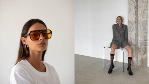 Las gafas naranjas de Lamarel y el estilo «dark academia» de Fligel Design