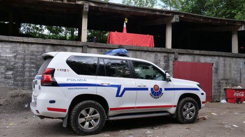 Un vehículo de la Policía Vasca, en una imagen de archivo
