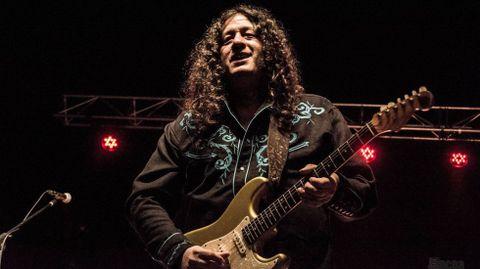 El guitarrista murciano Santiago Campillo actuará el sábado