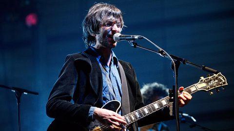 Xoel López en el último concierto que dio como Deluxe en noviembre de 2008