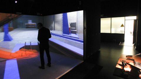 El CIS, en donde se instalará el Centro de Excelencia del Sector Naval, ya cuenta con unas instalaciones de realidad virtual