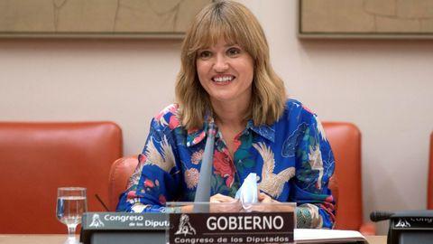 Pilar Alegría, ministra de Educación y FP