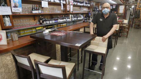 Alejandro Rodríguez, del Mesón Picasso, mantendrá la misma distribución de las mesas y renuncia a la barra