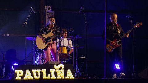 Pauliña actuará el sábado en el Canteira Fest de Vilaboa.