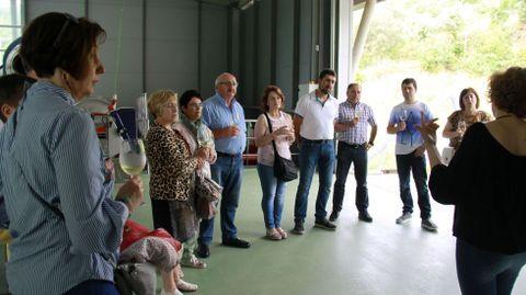 Foto de archivo de las jornadas de puertas abiertas en la Ruta do Viño de Valdeorras