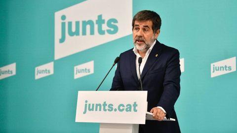 Jordi Sànchez, secretario general de Junts