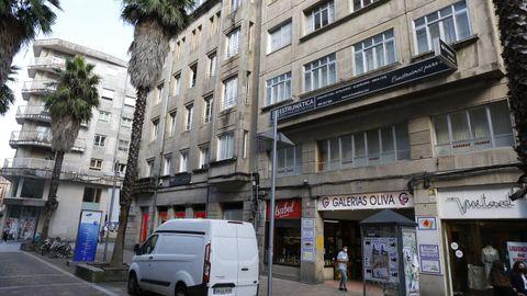 El Concello de Pontevedra ya tramitó la licencia de demolición del edificio de Gutiérrez Mellado que da acceso a las galerias de la Oliva