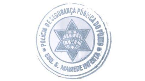 Sello de la Policía Local de Oporto.