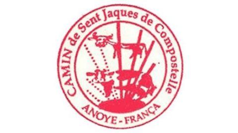 Sello del Ayuntamiento de Anoye, en Francia.