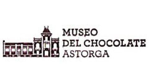 Sello del Museo del Chocolate de Astorga.