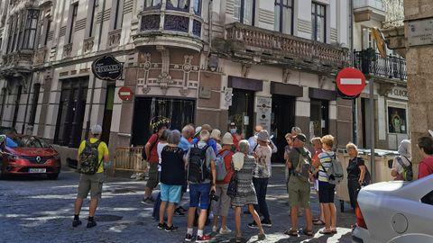 Franceses en la Ruta Modernista de Ferrol
