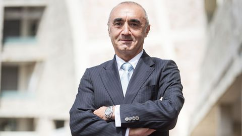 Juanjo de la Cerda, presidente de Clusaga