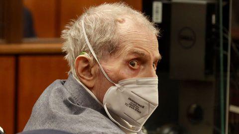 El millonario Robert Durst, durante el juicio