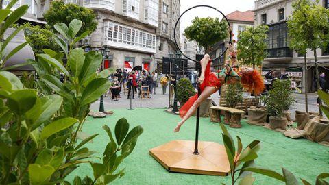 El Avoa Fest es uno de los eventos que se celebraron este fin de semana en las calles de Pontevedra