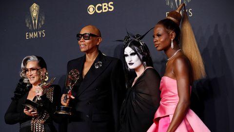 RuPaul Charles y sus invitados, premiados por el programa «RuPaul's Drag Race»