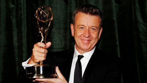 Peter Morgan, guionista de «The Crown»