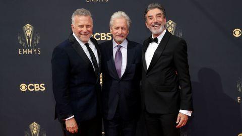Paul Reiser, Michael Douglas y Chuck Lorre