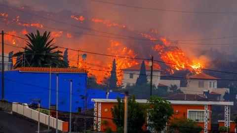 Imagen de La Palma, el lunes por la mañana