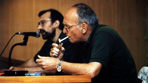 Mario Camus ofreció en el campus de Lugo una conferencia sobre cine y literatura el 24 de julio de 1996