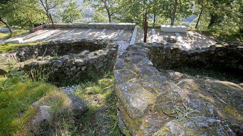 El castro da Subidá, en Marín, es uno de los escenarios del ciclo Historias cavadas.
